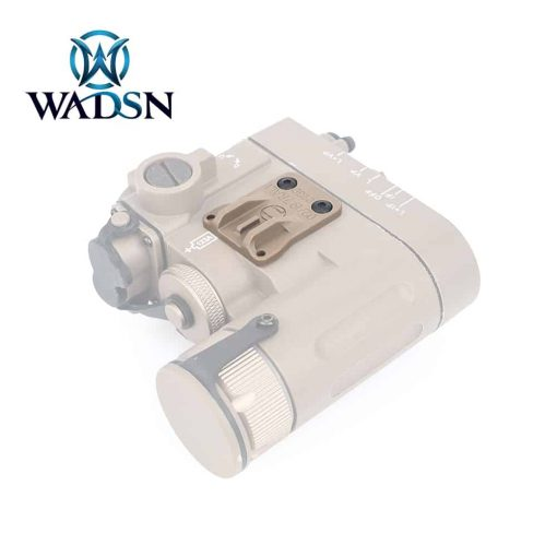 Wadsn DBAL-A2 Assist Sights (Leaf) v2.0 Black/DE