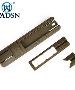 Wadsn TD Battle Grip Cover With Pressure Switch Slot (Black / Tan)