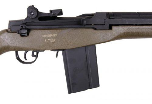 Cyma M14 long barrel - olive 6