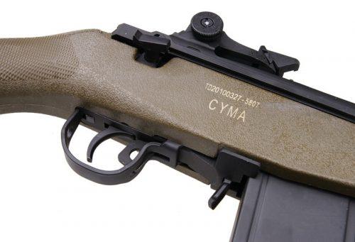 Cyma M14 long barrel - olive 5
