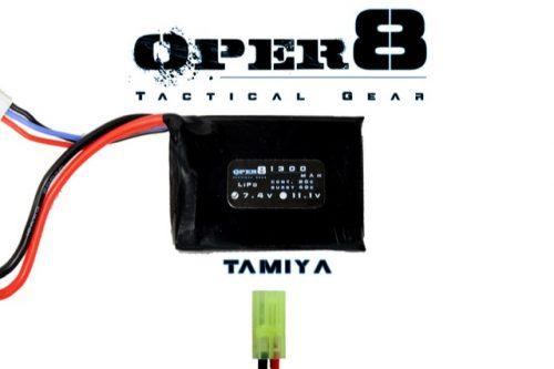 Oper8 7.4v Mini 1300MAH - Tamiya