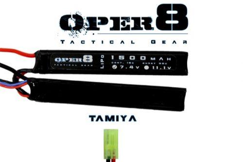 Oper8 7.4v Lipo Cranestock 1500MAH - Tamiya