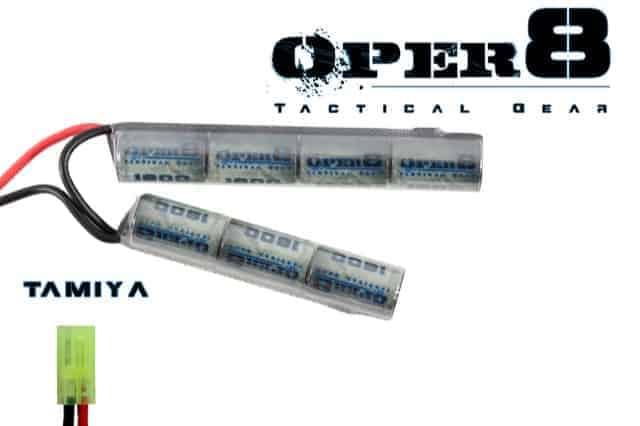 Oper8 8.4v 1600MAH Crane stock battery - Mini Tamiya