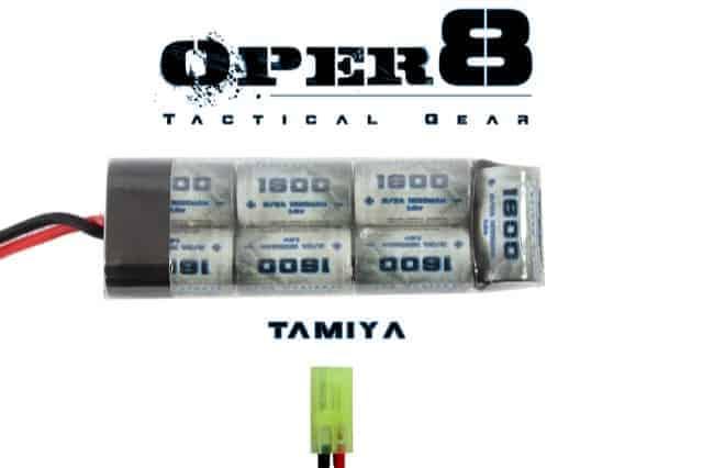 Oper8 8.4v 1600MAH Mini battery - Tamiya