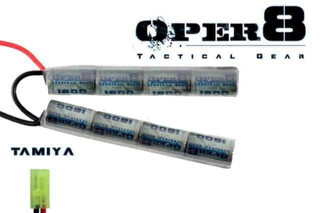 Oper8 9.6v 1600MAH Crane stock battery - Tamiya