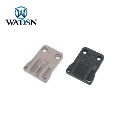 Wadsn DBAL-A2 Assist Sights (Leaf) v2.0 Black/DE