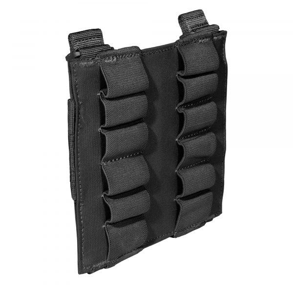 5.11 12rd shotgun shell pouch panel - black