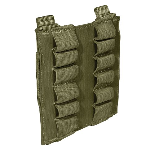 5.11 12rd shotgun shell pouch panel - olive