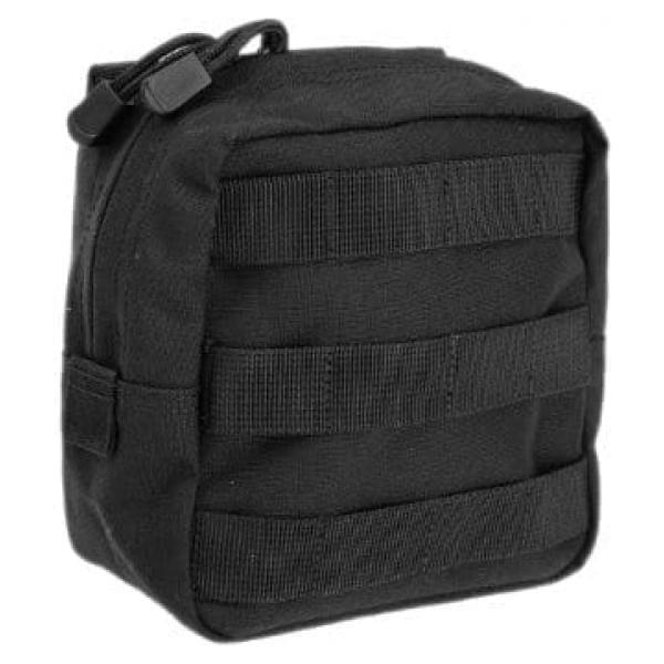 "5.11 tactical 6x6"" molle pouch - black"