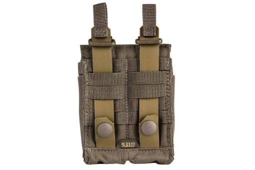 5.11 tactical double pistol mag pouch - ranger green 2