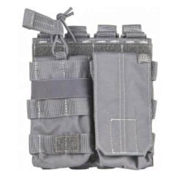 5.11 tactical double g36 magazine pouch - storm grey