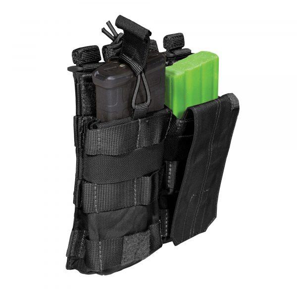 5.11 tactical double ar magazine pouch - black