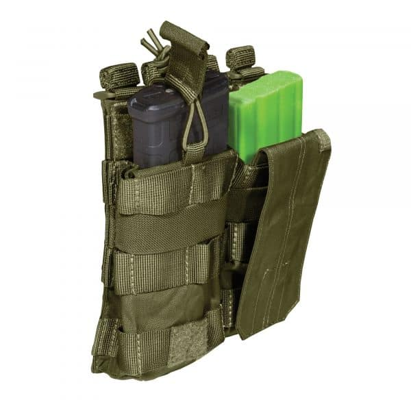 5.11 tactical double ar magazine pouch - olive
