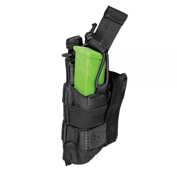 5.11 double pistol magazine pouch - black