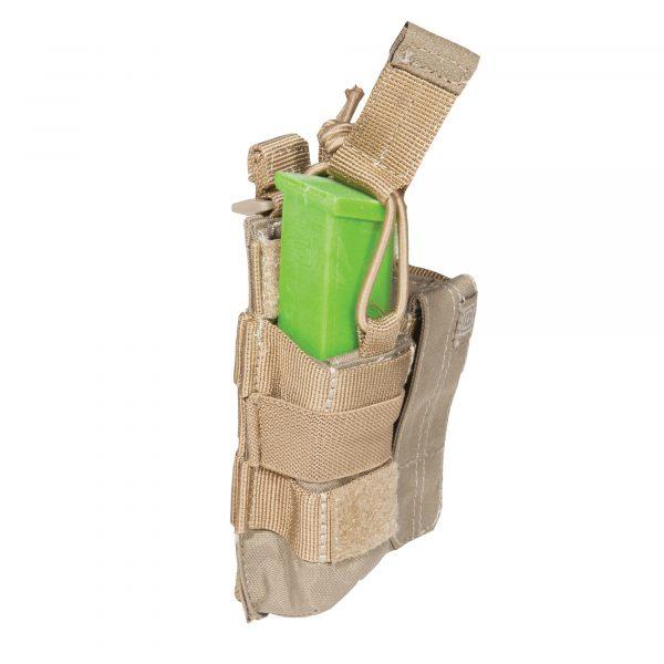 5.11 double pistol magazine pouch - sandstone
