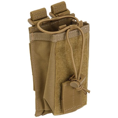 5.11 tactical molle radio pouch - dark earth