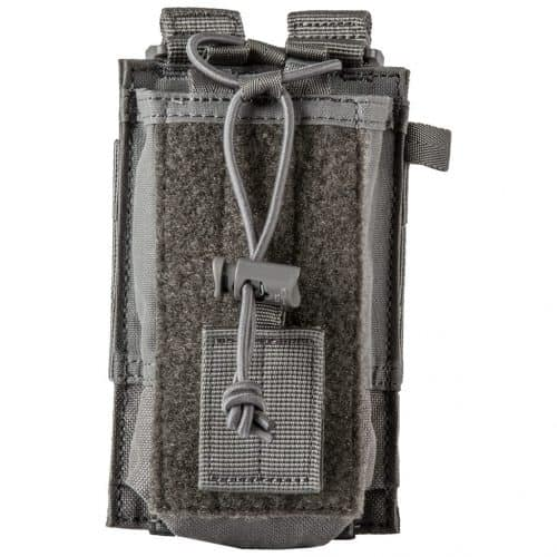5.11 tactical molle radio pouch - storm grey