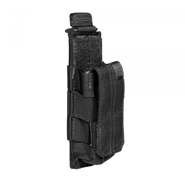 5.11 tactical single pistol magazine pouch - black