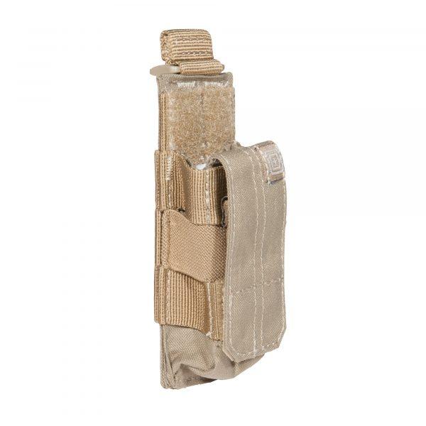 5.11 tactical single pistol magazine pouch - sandstone