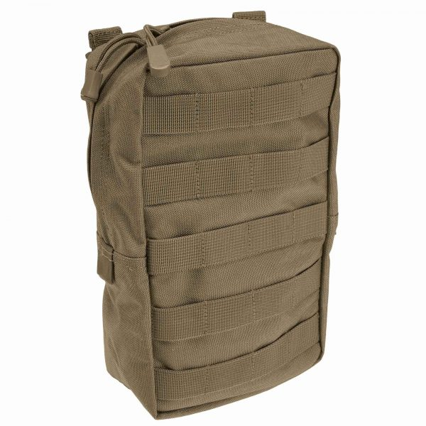 "5.11 6x10"" vertical molle pouch - sandstone"