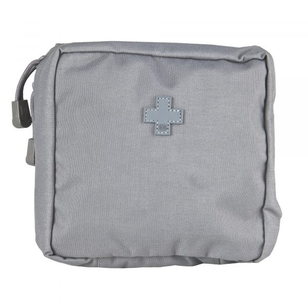 5.11 6x6 molle medic pouch - storm grey