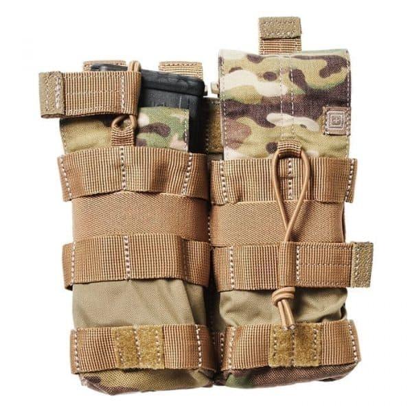 5.11 tactical double ar magazine pouch - multicam
