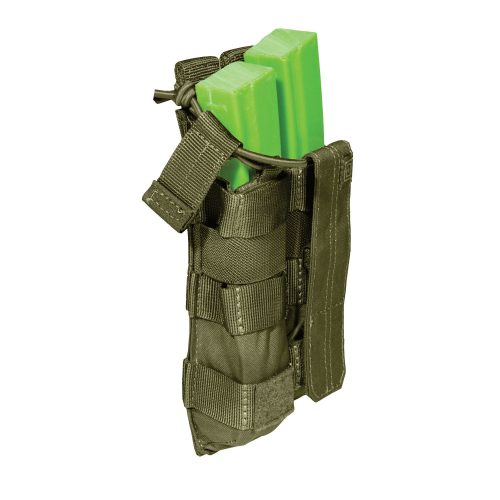 5.11 double mp5 magazine pouch - olive