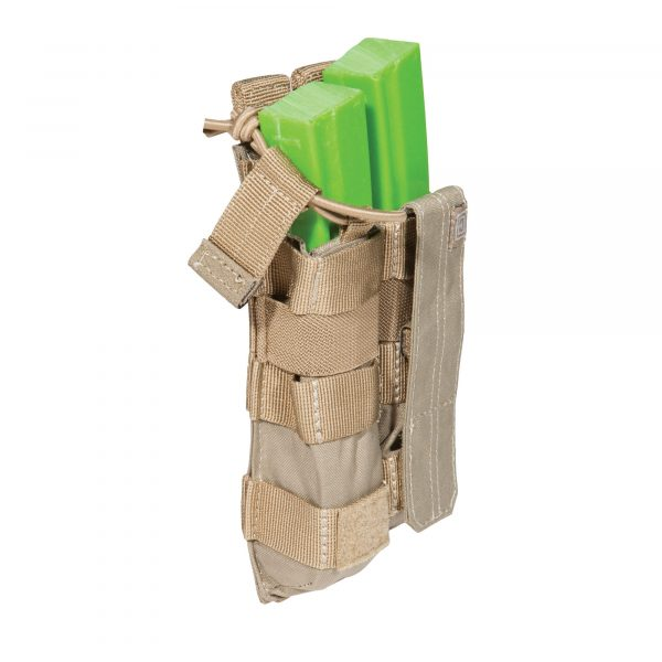 5.11 double mp5 magazine pouch - sandstone
