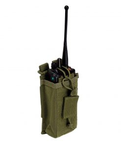 5.11 tactical molle radio pouch - olive