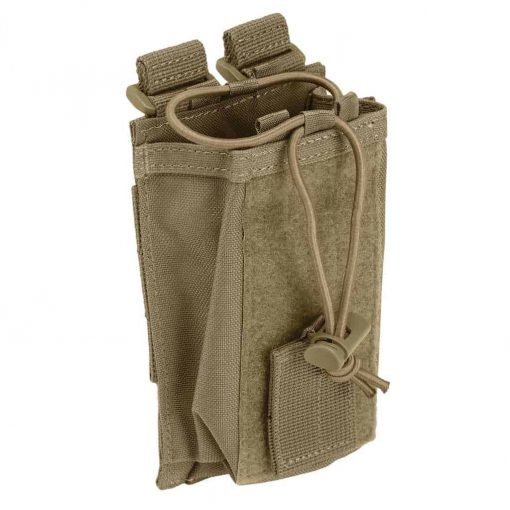 5.11 tactical molle radio pouch - sandstone