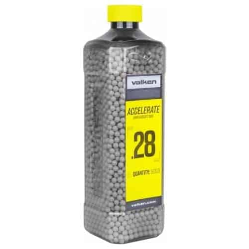 valken accelerate 0.28g 5000 BB botle