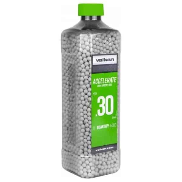 valken accelerate 0.30g 5000 BB bottle