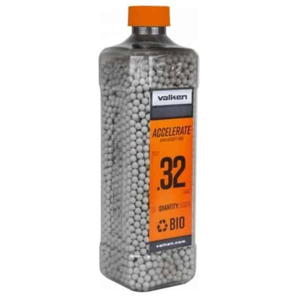 valken accelerate 032g bio BB bottle