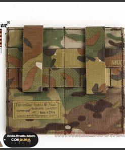emerson gear double elastic mag pouch - multicam 3