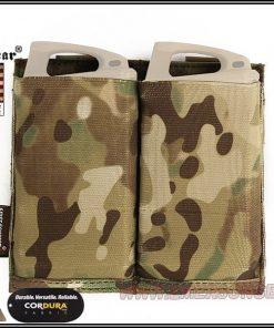 emerson gear double elastic mag pouch - multicam 1