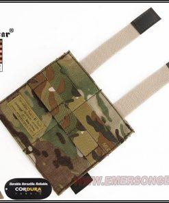 emerson gear double elastic mag pouch - multicam 2