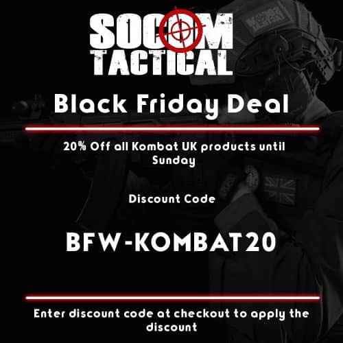 black friday 20% off all kombat uk