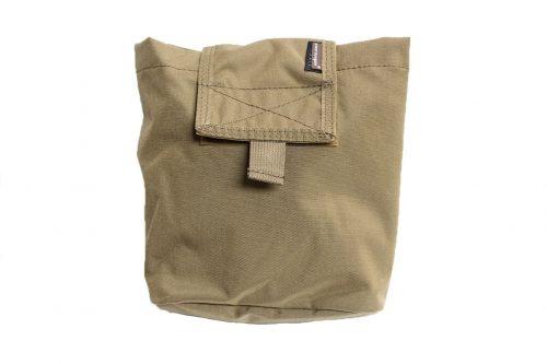 emerson gear folding dump pouch - coyote brown