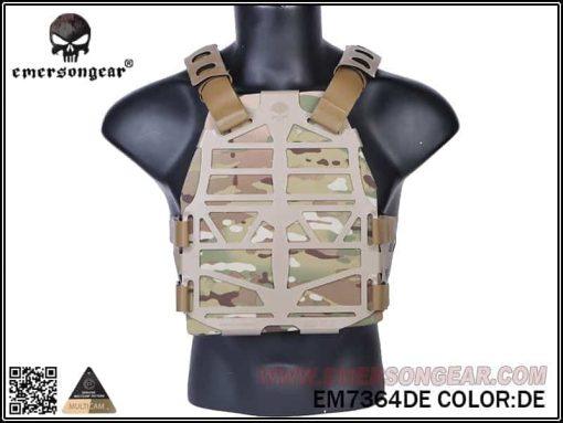 emerson gear frame plate carrier - dark earth