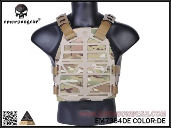 emerson gear frame plate carrier - dark earth