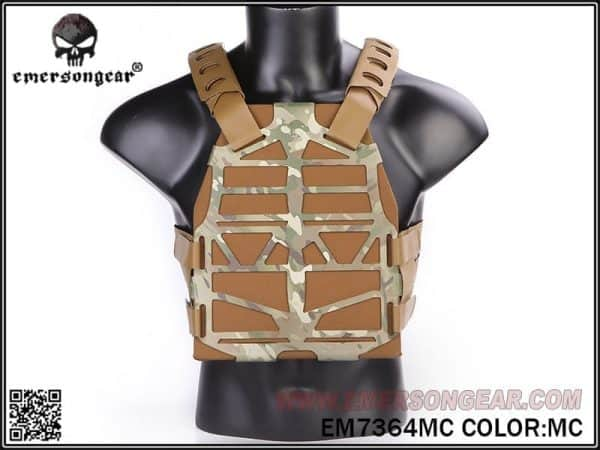 emerson gear frame plate carrier - multicam