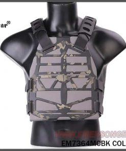 emerson gear frame plate carrier - multicam black