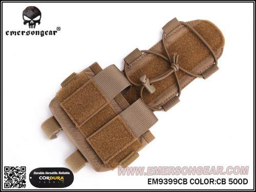 emerson gear mohawk mkii helmet battery case - coyote brown