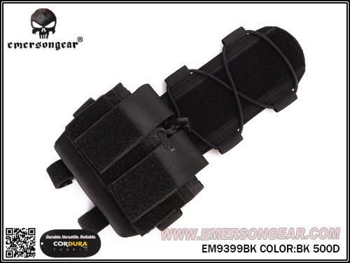 emerson gear MKII mohawk helmet battery case - black