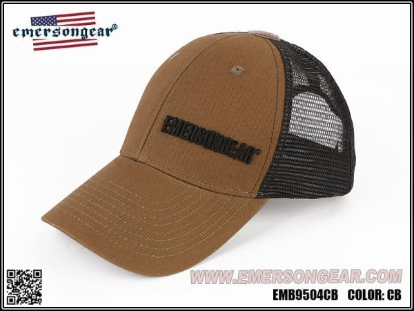 emerson gear blue label ventilation cap - coyote brown