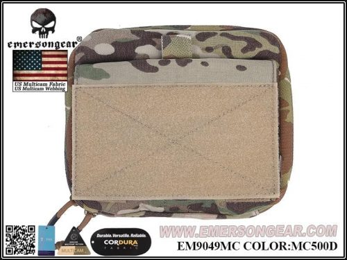 emerson gear large edc pouch - multicam