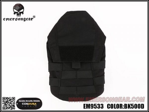 emerson gear molle hydration pouch 1.5l - black