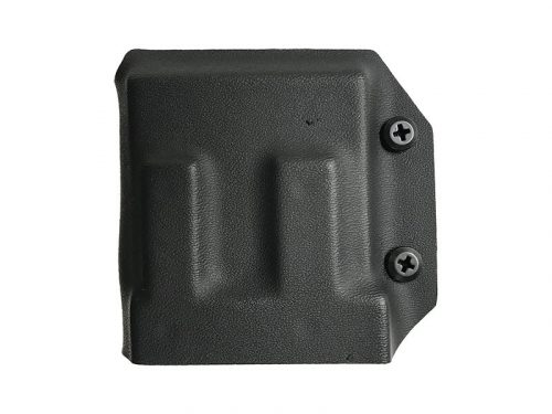 falcon battle systems kydex single ar/m4 mag pouch - black