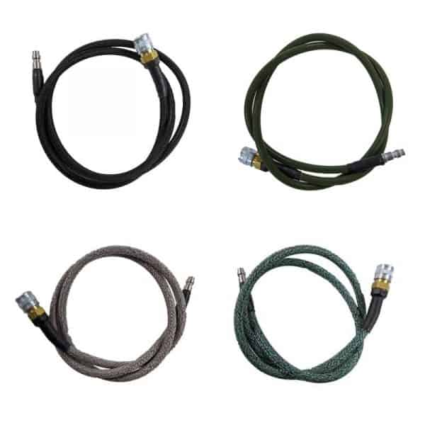 high pressure airsoft hpa hose - all 36""