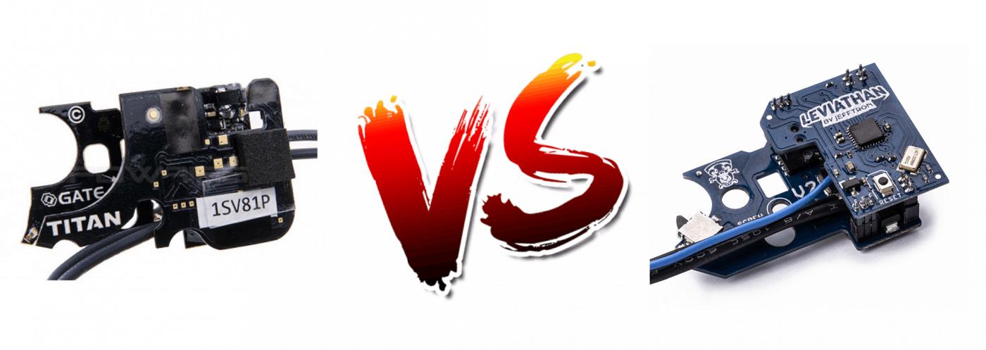 Jefftron Leviathan vs Gate Titan